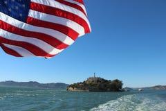 Americano Alcatraz imagen de archivo libre de regalías