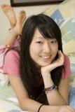 Americano asiatico Fotografia Stock