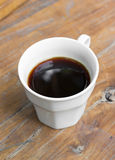 Americano black coffee. Stock Image