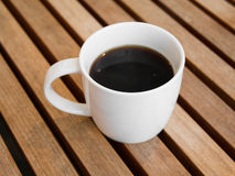 Americano black coffee Stock Images