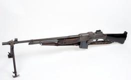 Americano che brunisce arma automatica M1918 Immagini Stock Libere da Diritti