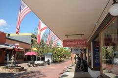 AMERICANO CITTÀ VECCHIA KISSIMMEE ORLANDO FLORIDA U.S.A. immagini stock libere da diritti