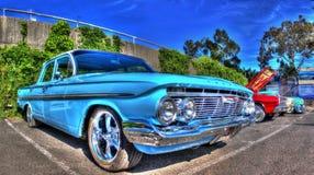 Americano clásico Chevy Bel Air de los años 60 Imagen de archivo libre de regalías
