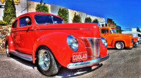 Americano classico Ford Deluxe 1940 Fotografia Stock