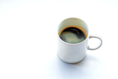 Americano coffee on light background Stock Photo