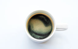 Americano coffee on light background Stock Photography