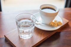 Americano coffee Royalty Free Stock Images