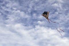 Americano cometa el límite del cielo Imágenes de archivo libres de regalías