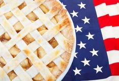 Americano como empanada de Apple Foto de archivo libre de regalías