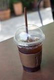 Americano délicieux de café de glace Photos stock