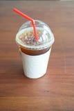 Americano délicieux de café de glace Photographie stock libre de droits