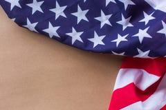 Americano 2018 da bandeira dos EUA da celebração do dia nacional Foto de Stock