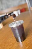 Americano de café de glace Photographie stock libre de droits