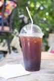 Americano de café de glace Photo libre de droits