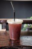 Americano de glace ou café noir de glace Photo libre de droits