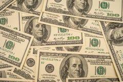 Americano dei soldi Fotografia Stock Libera da Diritti