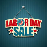 Americano del Día del Trabajo Imágenes de archivo libres de regalías