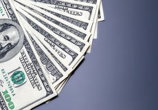 Americano del dinero cientos dólares imagen de archivo libre de regalías
