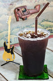 Americano delicioso do café de gelo Imagens de Stock