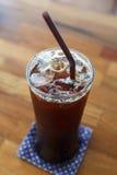Americano do café de gelo Fotografia de Stock
