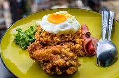 Americano Fried Chicken Fotografia Stock Libera da Diritti