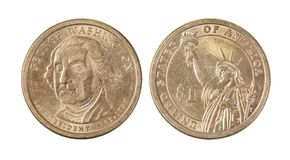 Americano George Washington Dollar Coin