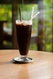 Americano glacé de café Photo stock
