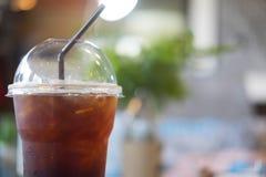 Americano glacé de café noir Image libre de droits