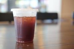 Americano glacé de café noir Photo stock