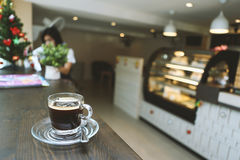 Americano kawa obrazy stock