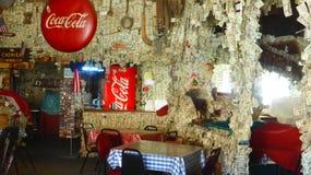Americano local con una decoración especial Imagen de archivo libre de regalías