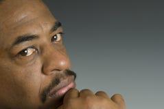 Americano nero Fotografia Stock Libera da Diritti