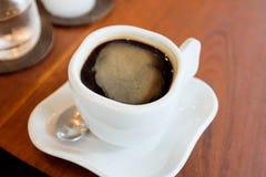 Americano ou café chaud Photo stock