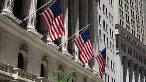 Americano ou nós bandeiras fotos de stock