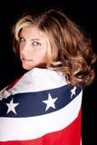 Americano 'sexy' Imagem de Stock Royalty Free