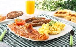 Americano típico del desayuno Fotos de archivo
