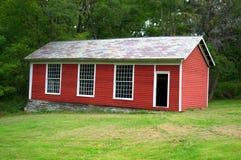Americano temprano Shaker Schoolhouse Lebanon Massachusetts Imagen de archivo