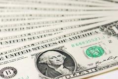 Americano um dólar Fotos de Stock Royalty Free