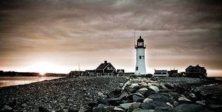 Americas 11th Oldest Lighthouse Stock Image