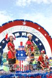 America's 2008 Independence Day parade. Royalty Free Stock Image