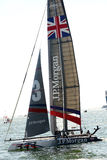 Americas cup world series Royalty Free Stock Image