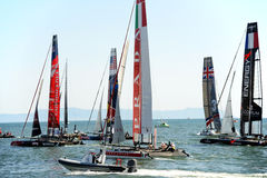 Americas cup world series Royalty Free Stock Images