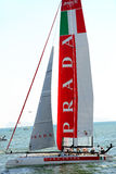 Americas cup world series Royalty Free Stock Photo