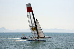 Americas cup world series Stock Photo