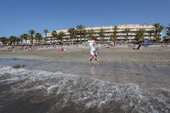 americas De Las Playa Tenerife zdjęcie stock
