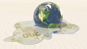 Americas Euro Melt Stock Images