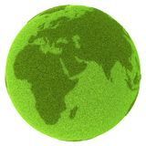 Americas on green planet Royalty Free Stock Photos