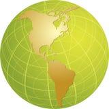 americas mapa Obraz Stock