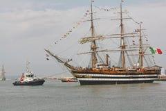Amerigo Vespucci, bateau de formation italien Photographie stock