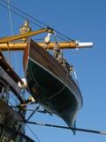 Amerigo Vespucci lifeboat Stock Image